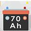 Kostenlos: Batterie von 70 A (70 Ampere)