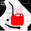 Kostenlos brennstoffkanister 5 lt