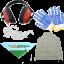 Schutz-Set: Baumwollhandschuhe, Brille, Hörschutz, Maske, Halstuch AgriEuro- gratis!