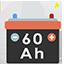 Kostenlos batterie von 60 a 60 ampere