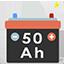 Kostenlos batterie von 50 a 50 ampere